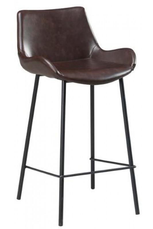 Vintage Bar Stool - Dark Brown