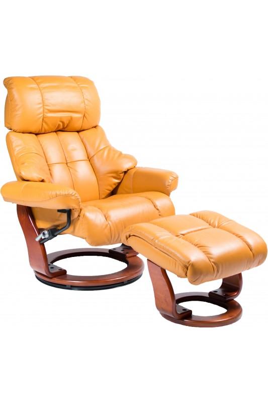 Regal Stress-Free Recliner - Orange