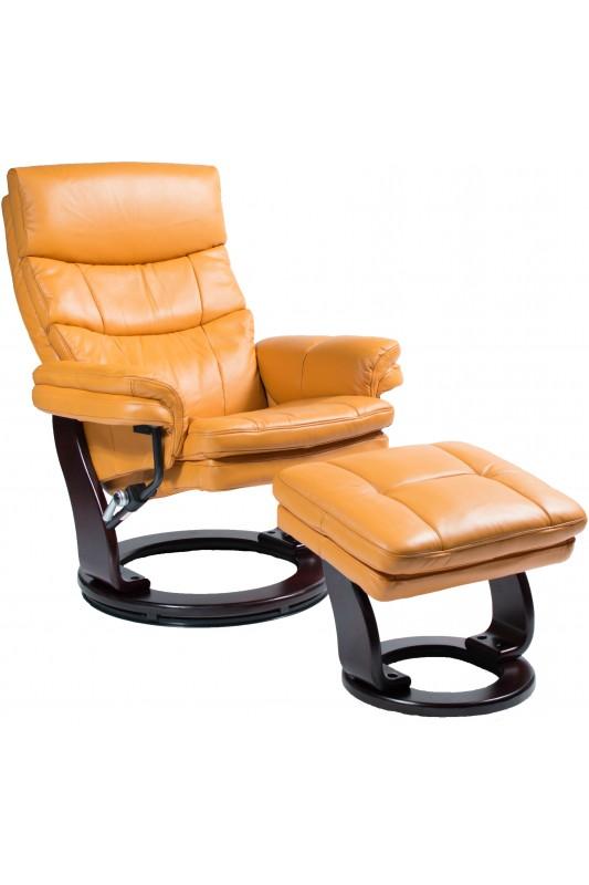 Royal Stress-Free Recliner - Orange