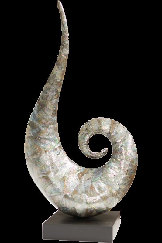 Paua Shell Koru