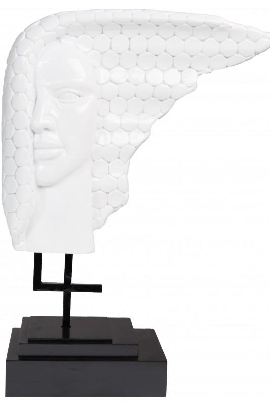 Face Off Sculpture