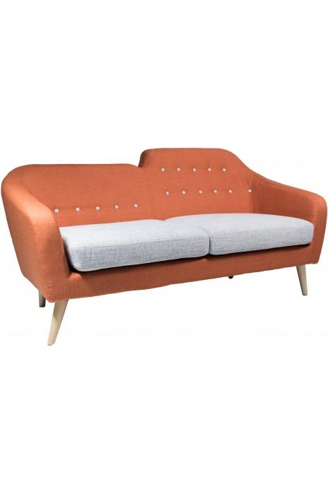 Carol 3 Seater - Orange