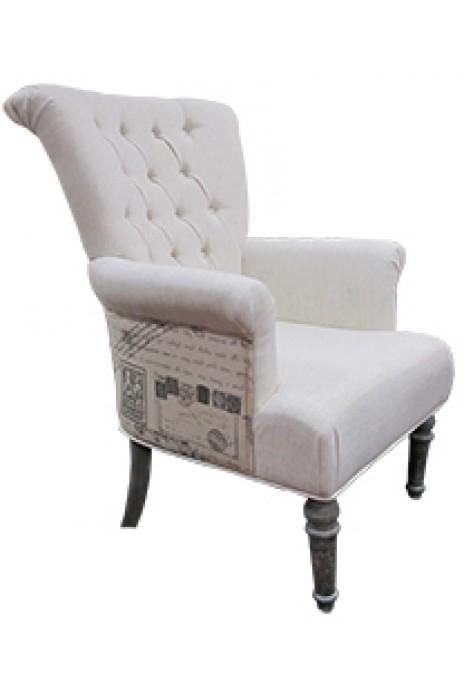 Victor Linen Armchair